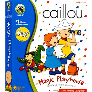 [CD-ROM] Caillou Magic Playhouse -까이유의 보물찾기