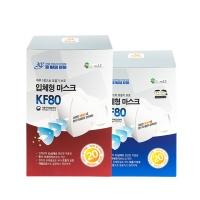 3Q 일회용 미세먼지 마스크 KF80 [20매] 화이트