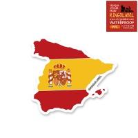 랜드마크 스페인 - 캐리어/노트북 스티커