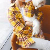 버든 반려동물 커플룩 (여름 셔츠)