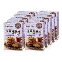 (한박스/10개입)큐원 초코칩쿠키믹스 (전자레인지용)