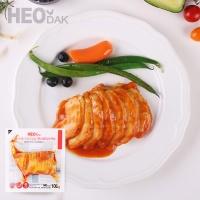 [허닭] 프레시 슬라이스 닭가슴살 핫커리맛 100g