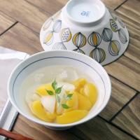 일본식기 후르츠 삼각면기