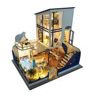 [adico]DIY 미니어처 풀하우스 - 썸머풀하우스