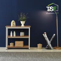TS-05 슬림테이블800 set(기본형+추가선반) 슬림식탁 사이드테이블 슬림선반