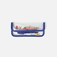 SWSW PENCIL CASE PVC Blue