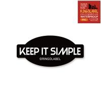 KEEP IT SIMPLE - 캐리어/노트북 스티커