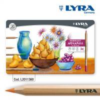 LYRA-리라 램브란트-아쿠아렐 수채색연필 36색컬러링