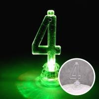 LED 숫자초 4