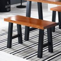 [채우리] 샤이 A형 2인 원목 의자