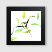 ct835-바람에흩날리는잎_미니액자벽시계