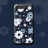 iPhone7,8 - BLUE BLOOM LIGHTING CASE