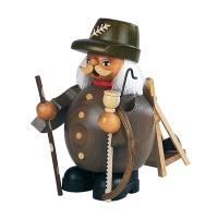 스모킹맨 - 벌목하는 사람, 회색, 14cm 16010