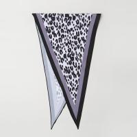 Leopard Diamond Scarf