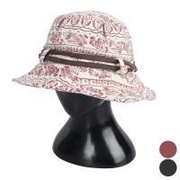 [디꾸보]투라인 배색 빈 사파리 모자 플로피 햇JAN144