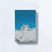 [타이드] 인테리어소품 캔버스액자 스노우 블루마운틴3