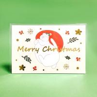 반짝반짝 식빵뚱냥 크리스마스 엽서