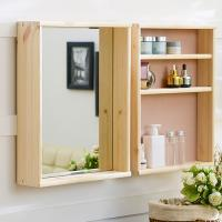 [다니엘우드] 원목 선반형 화장대 거울