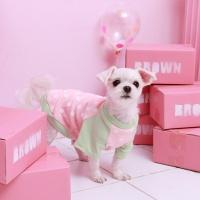 [모모제리] 도트나그랑티셔츠 : 핑크