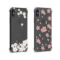 아이폰XS/X 코너 벚꽃 보호케이스