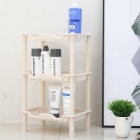 [3단 홈키퍼 사각]예쁜 욕실수납/주방선반/수납/선반