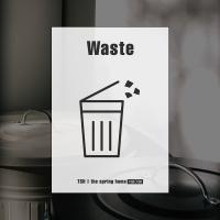 항균·탈취 스티커 붙여봄 - Waste(A5)