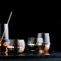로즈골드 기본형 와인잔 1개