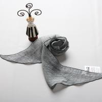 [더로라] 마소형스카프 - 블랙핑엣지 S9016
