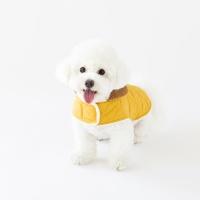 양면 퀼팅 코트(옐로우)