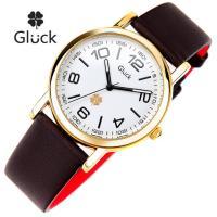 [Gluck]글륵 행운의 시계 GL600-GDBR 남여공용 본사정품
