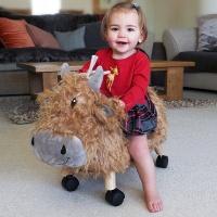 휴벌트 황소 동물타기 라이드온 붕붕카
