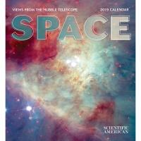 2019 캘린더 Space: Views from the Hubble Telescope
