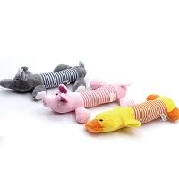 [봉봉펫닷컴] 귀여운 삼총사 강아지 봉제인형 장난감
