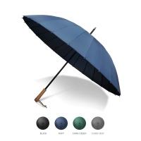 크로반 우드그립 장우산 수동 KR1 4종 택1