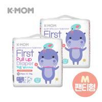 케이맘 처음 팬티기저귀(중형) 2팩