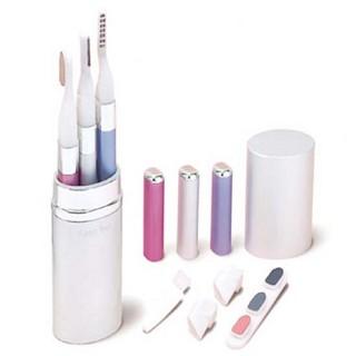 세이코 여성용 Beauty Care 3종세트 BC300 (눈썹정리기+눈썹고데기+손톱정리기)