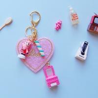 토이 키링-핑크타운 램