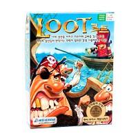 [2005 멘사선정 보드게임] 신나는 해적의 모험 - 루트 LOOT(금화모으기 전략게임)<한글판>