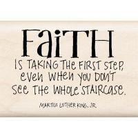 우드스탬프 FAITH IS