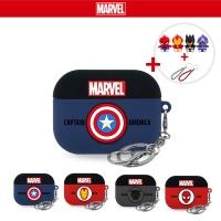 에어팟3 프로 정품 젤리케이스 키링_캡틴아메리카 405