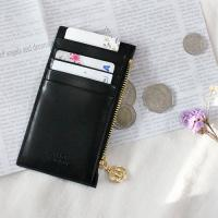 D.LAB Gato zipper wallet - Black