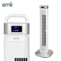 EMK 공간절약 리모콘 타워팬 선풍기 ETF-K3607 화이트/3단계 바람세기/3가지모드/좌우회전/12시간타이머