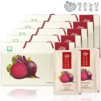 청춘농장 유기농 레드비트즙 5박스 150포