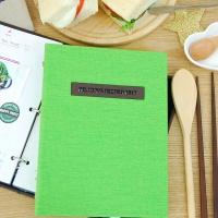 나만의 맛있는 기록 제이로그 레시피북 바인더-그린