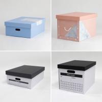 [4P] 컬러마블&인덱스 디자인 수납정리 (5종 택1)
