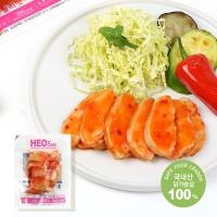 [허닭] 오리지날 슬라이스 닭가슴살 칠리맛 200g