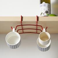 (메탈텍스) 타짜 선반밑 틈새수납 컵걸이- 3color