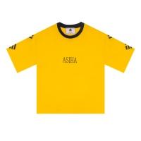 ASIHA 건곤감리 1/2 티셔츠 Yellow