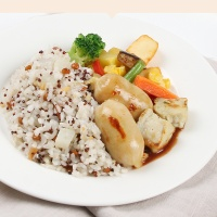 [허닭] 퀴노아곤약&청양닭가슴살소시지 도시락