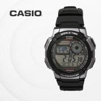 카시오 군인 군용 전자 빈티지 손목시계 AE-1000W-1B